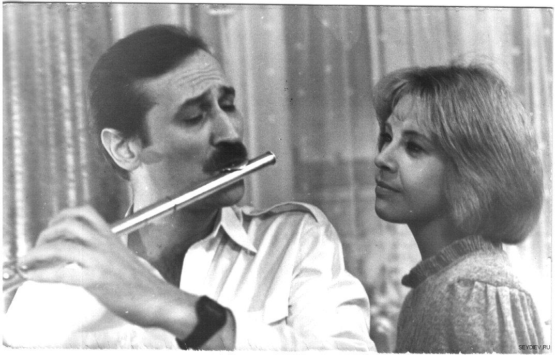 Леонид Филатов и Татьяна Догилева