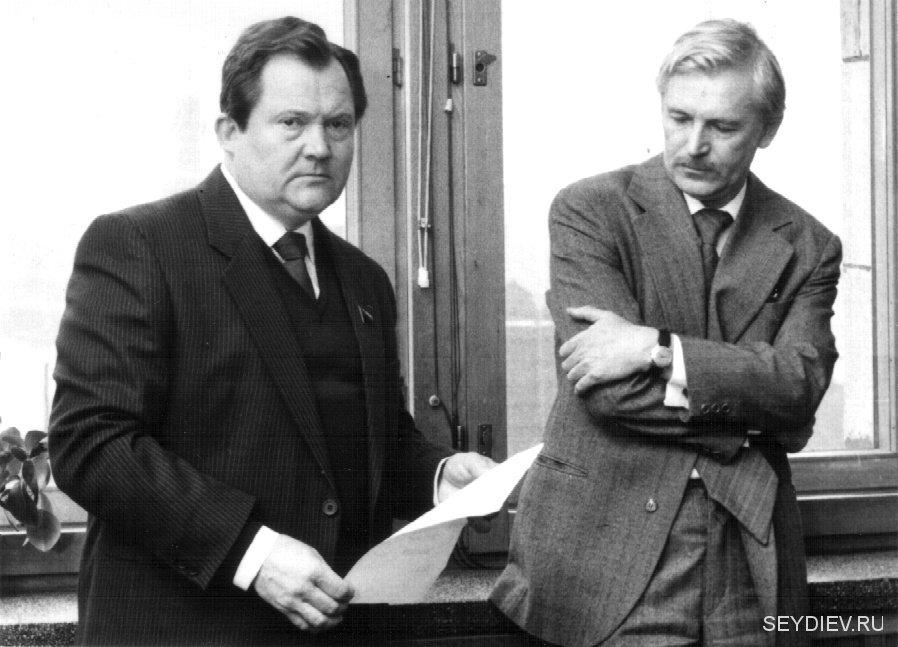 Виктор Павлов и Станислав Любшин