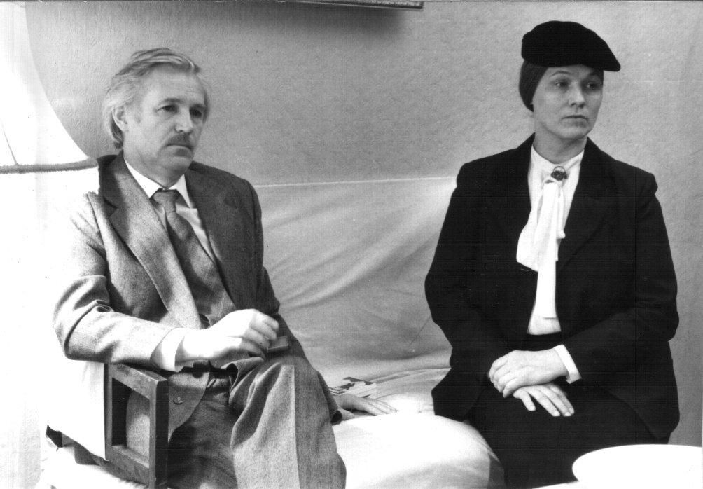 Нина Русланова и Станислав Любшин