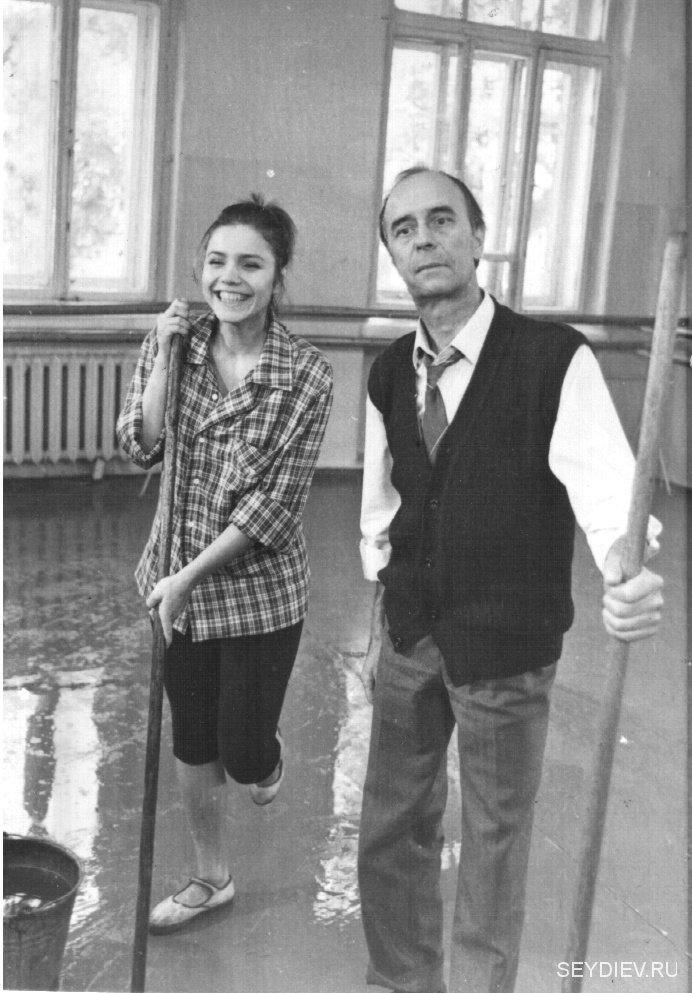 Марина Зудина и Олег Борисов